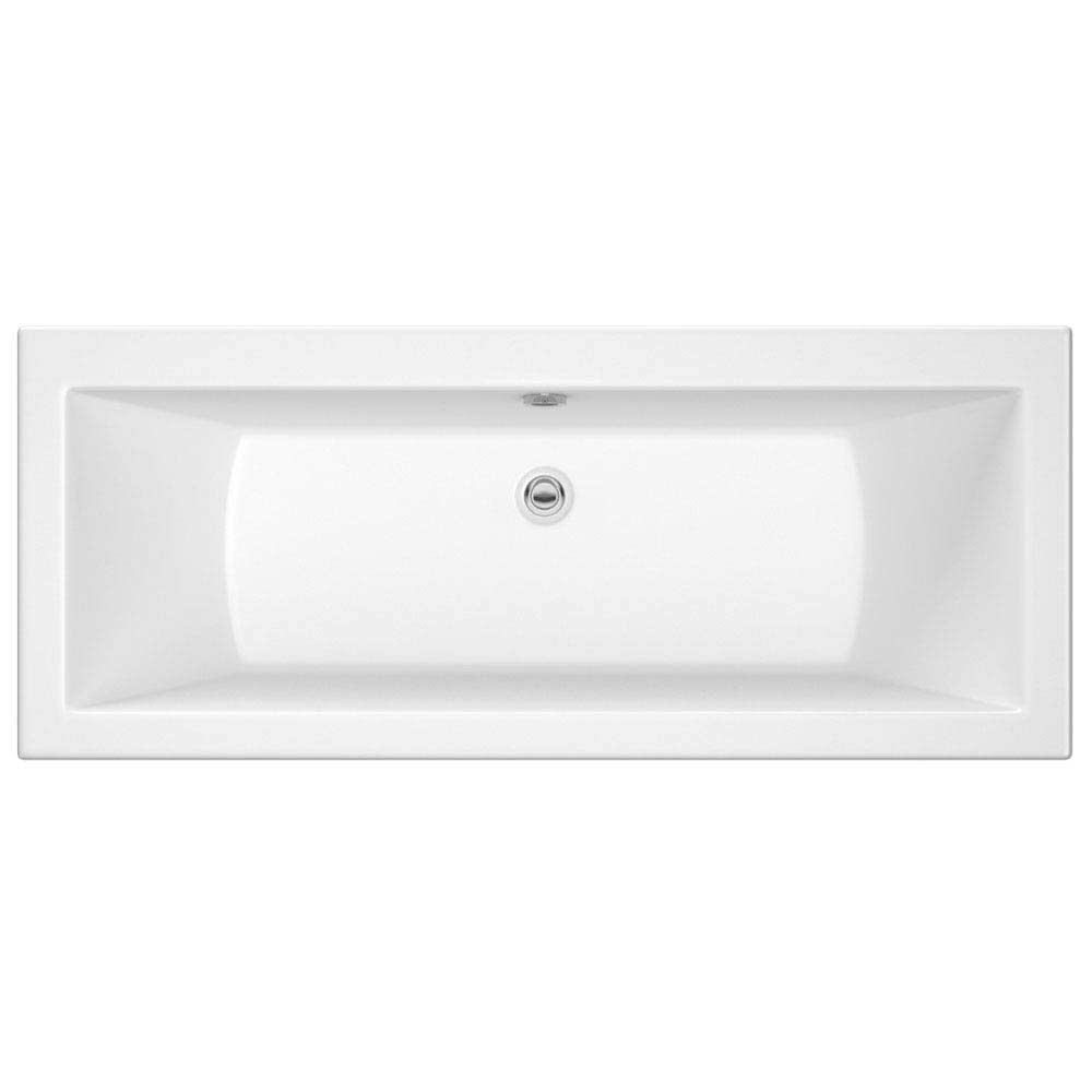 Premier Asselby Square Double Ended Bath with Front & End Panels Profile Large Image
