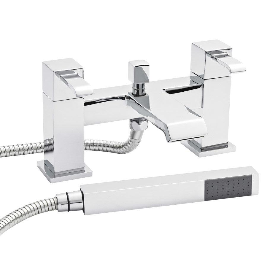 Ultra Blake Waterfall Bath Shower Mixer + Shower Kit - TBL304 Large Image
