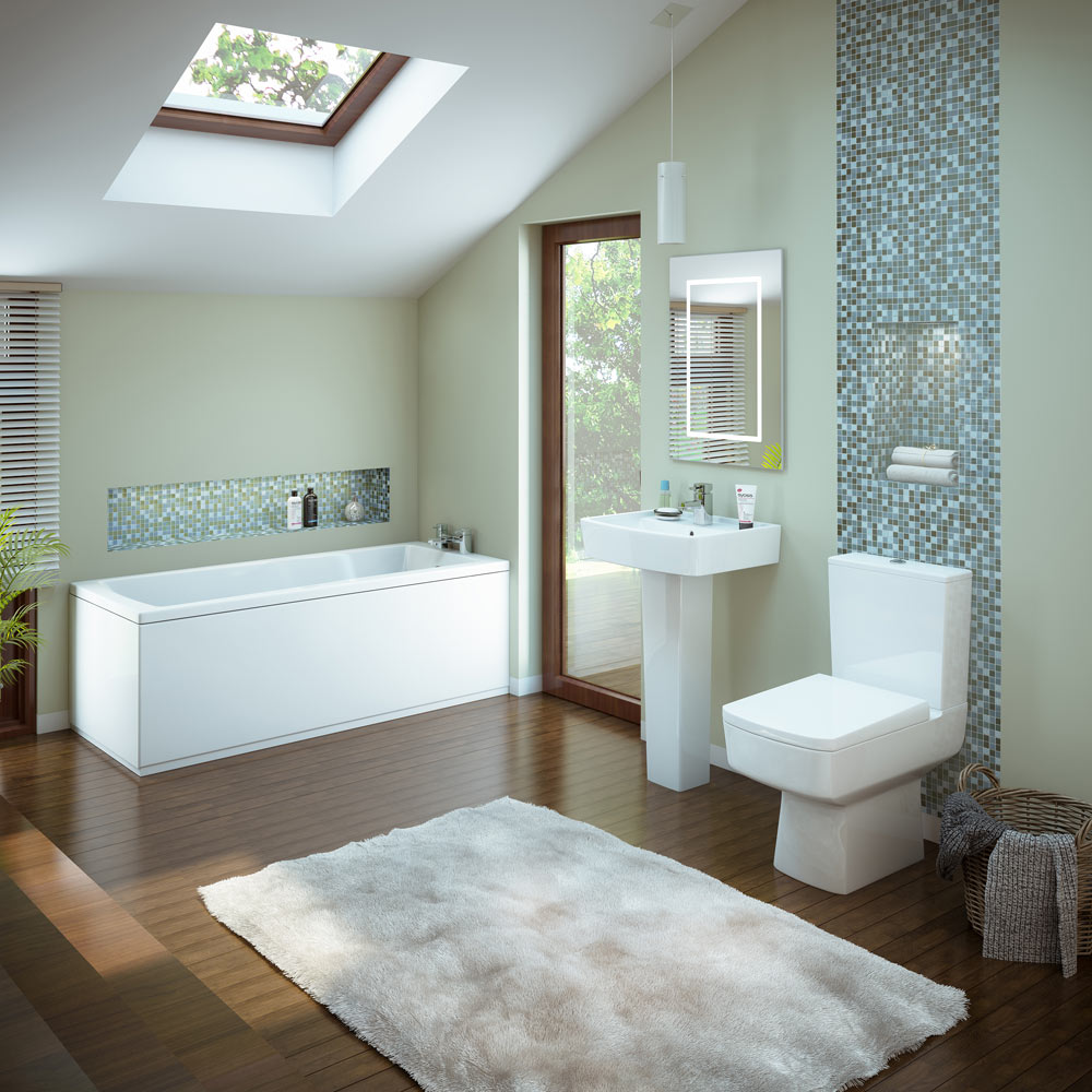 Premier Bliss 5 Piece Bathroom Suite At Victorian Plumbing Uk