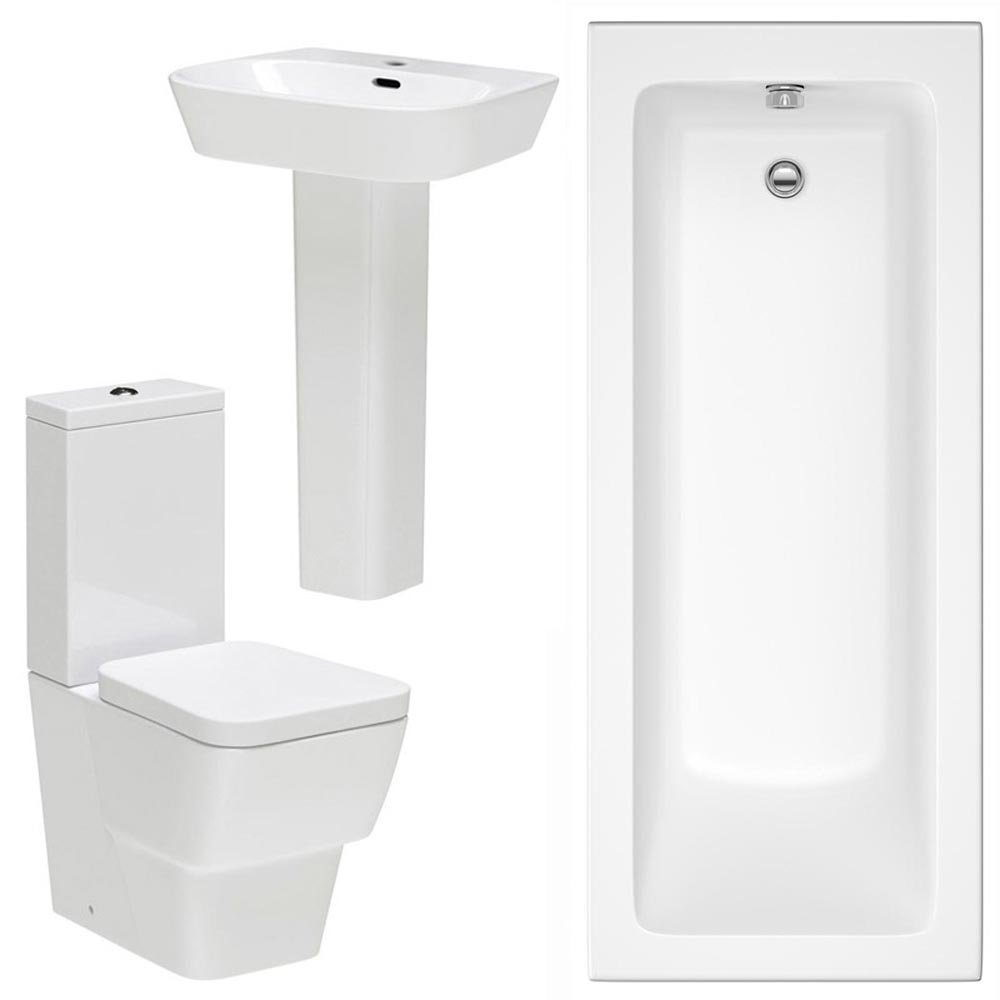 Premier Cambria 5 Piece Bathroom Suite Large Image
