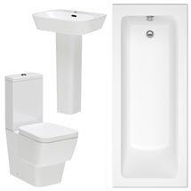Premier Cambria 5 Piece Bathroom Suite Medium Image