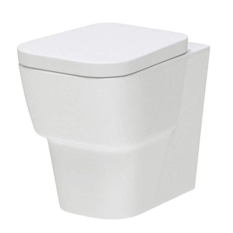 Premier - Cambria Back To Wall Pan with Soft Close Seat - CCA005 Large Image