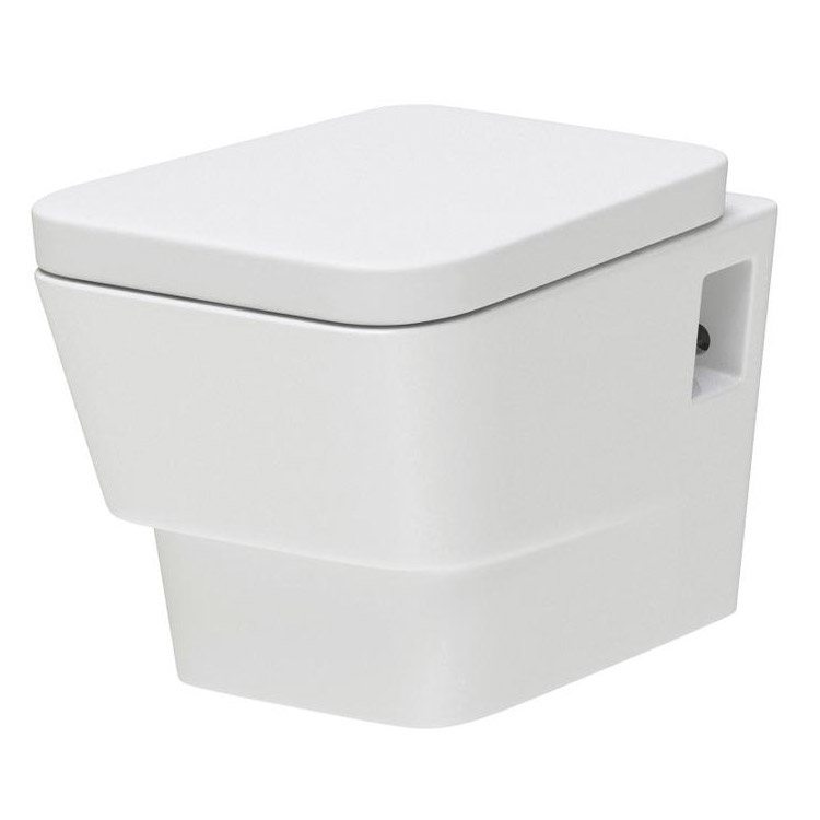 Premier - Cambria Wall Hung Toilet with Soft Close Seat - NCR340 Large Image