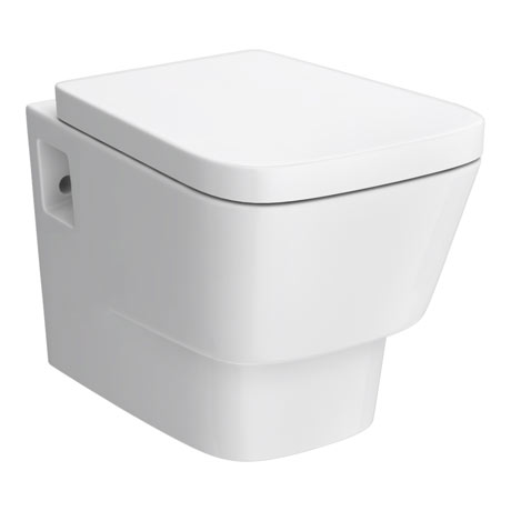 Premier - Cambria Wall Hung Toilet with Soft Close Seat - NCR340