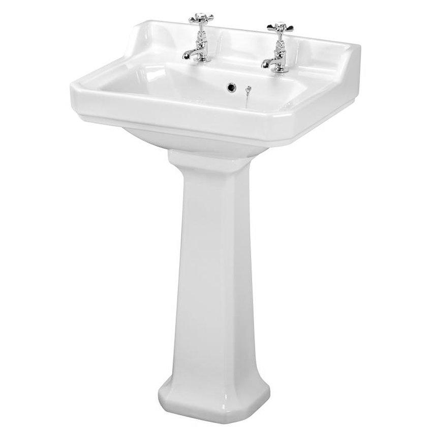Premier - Carlton 4 Piece Ceramic 2TH Bathroom Suite - Medium profile large image view 3