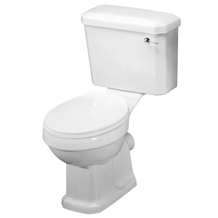 Premier - Carlton 4 Piece Ceramic 2TH Bathroom Suite - Small Profile Large Image