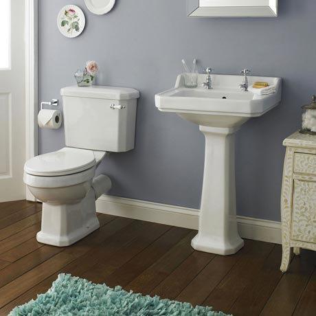 Premier - Carlton 4 Piece Ceramic 2TH Bathroom Suite - Medium
