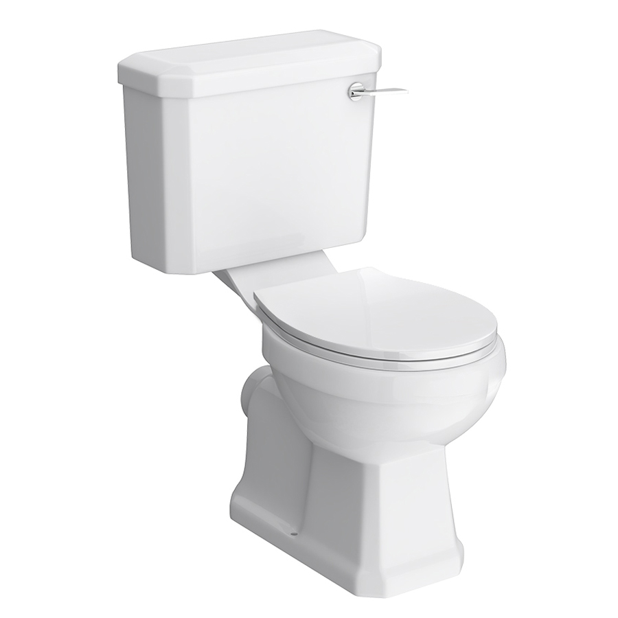 Premier Carlton Traditional Toilet with Seat profile large image view 1