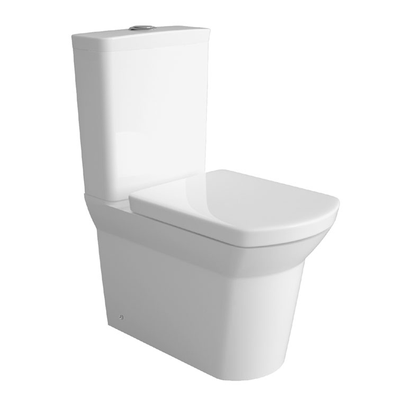 Premier Clara BTW Close Coupled Toilet with Soft Close Seat Large Image