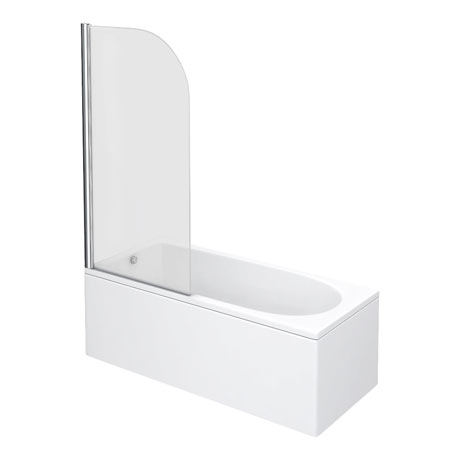 Premier Curved Top Straight Hinged Barmby Shower Bath