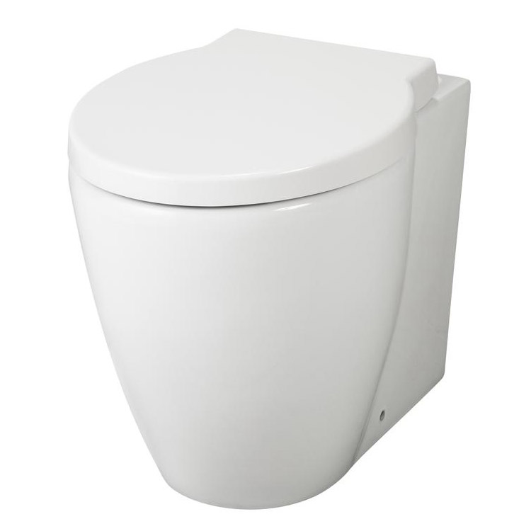 Premier - Darwin Back To Wall Pan with Soft Close Seat - NCR206 Large Image