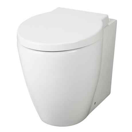 Premier - Darwin Back To Wall Pan with Soft Close Seat - NCR206