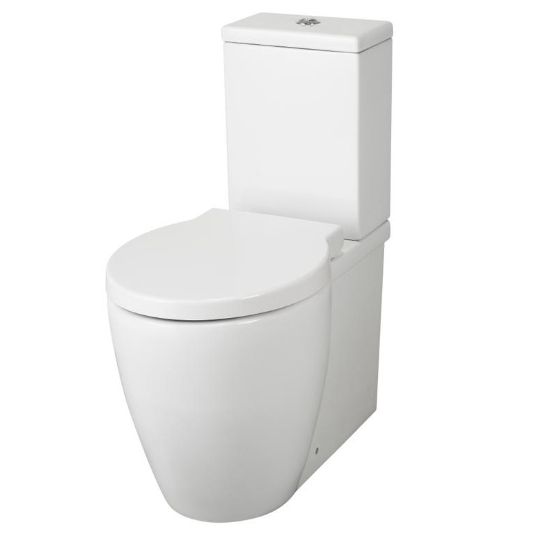 Premier - Darwin Flush To Wall Pan & Cistern with Soft Close Seat Large Image