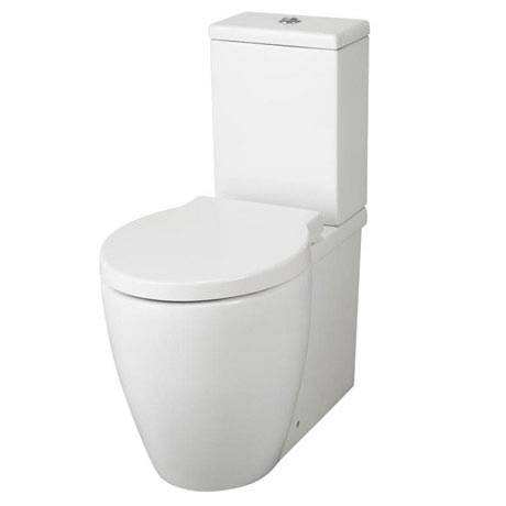 Premier - Darwin Flush To Wall Pan & Cistern with Soft Close Seat