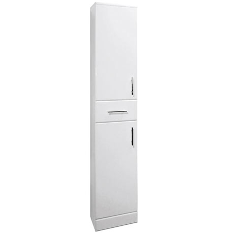 Premier Delaware High Gloss White Deep Tallboy W350 x D330mm - VTY003