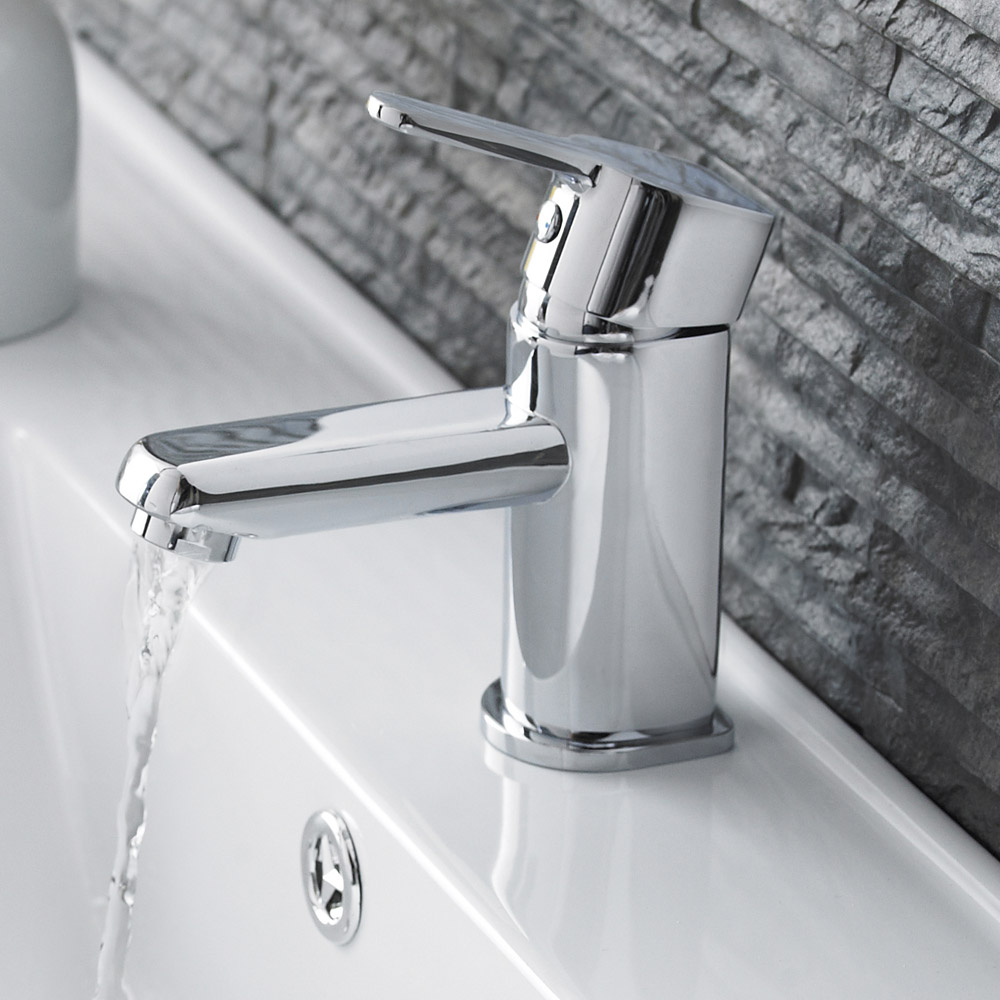 Ultra Finlay Mono Basin Mixer Tap + Waste - TFI305 Profile Large Image