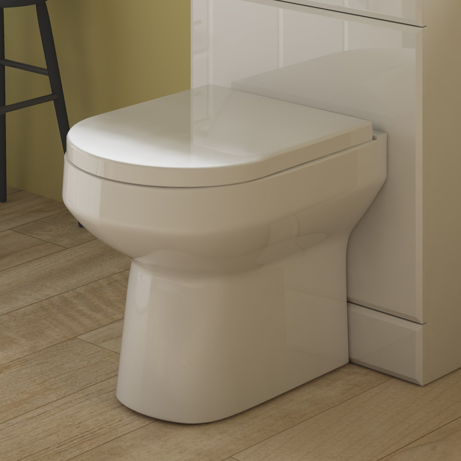 Premier - Harmony Back to Wall Toilet with Soft Close Top Fixing Seat Profile Large Image