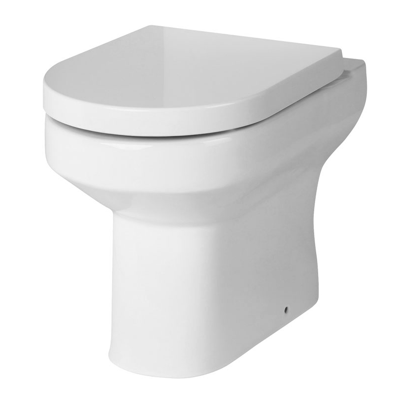 Premier Harmony Back To Wall Toilet Soft Close Seat At Victorian Plumbing Uk