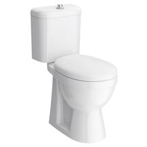 Premier High Rise Close Coupled Toilet - DOCMP100 Medium Image