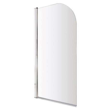Premier Hinged Curved Top Bath Screen (790 x 1400mm) - NSS1