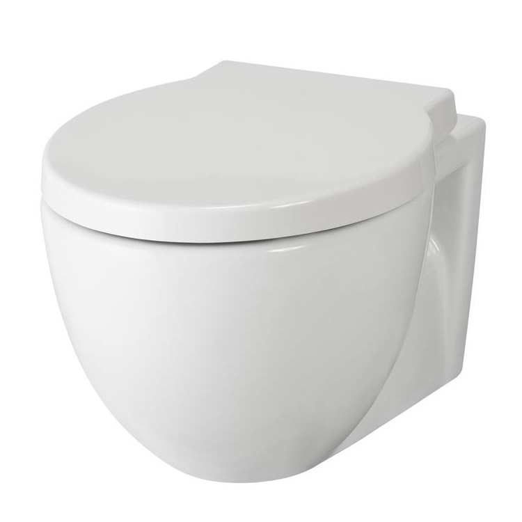 Premier - Holstein Wall Hung Toilet with Soft Close Seat - NCR140 Large Image