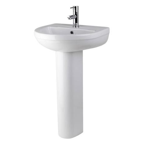 Premier - Ivo Basin 1TH with Full Pedestal - 2 Size Options