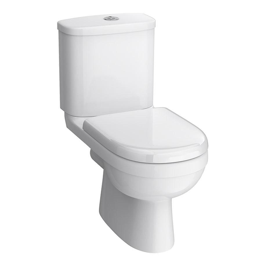 Premier Ivo Ceramic 4 Piece Bathroom Suite - 1 or 2 Tap Holes profile large image view 2