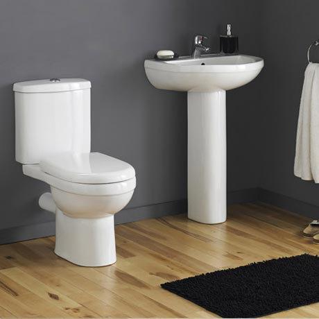 Premier - Ivo Ceramic 4 Piece Bathroom Suite - 1 or 2 Tap Holes