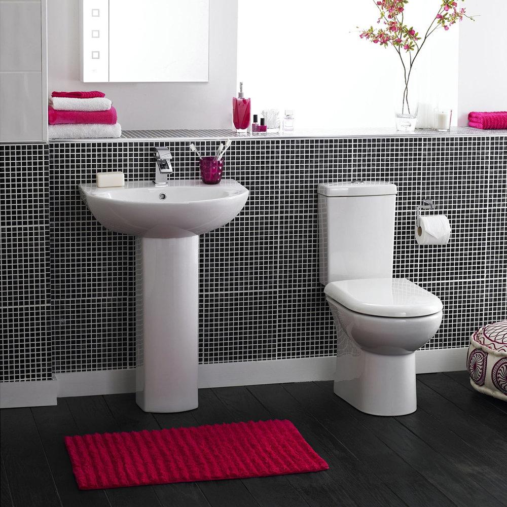 Premier knedlington 4 piece 1th bathroom suite at for Two piece bathroom ideas