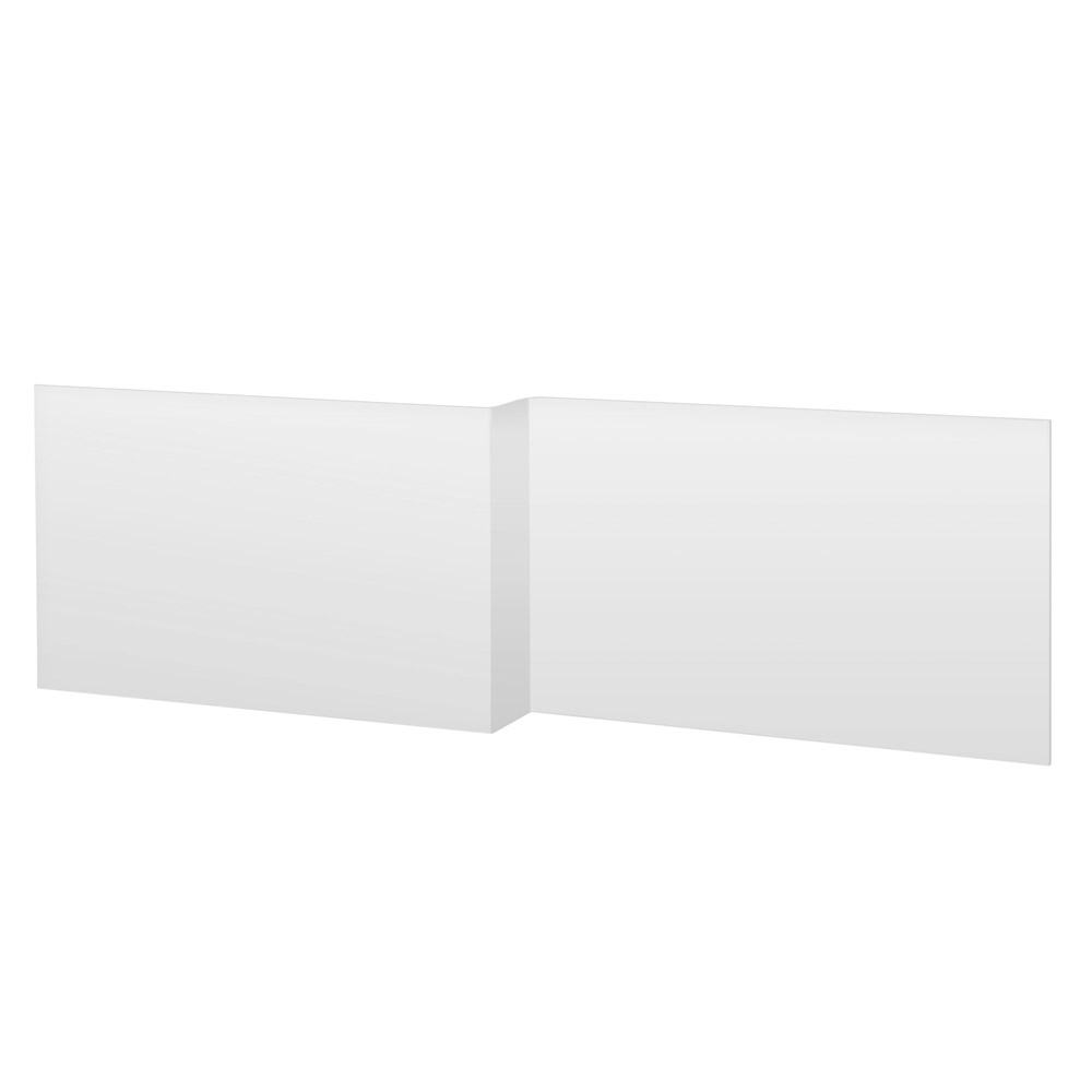 Premier L Shaped Acrylic Front Panel Large Image