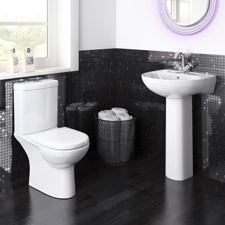 Premier Lawton Compact 4-Piece Bathroom Suite
