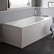 Premier Linton Square Single Ended Bath inc Front & End Panels Medium Image