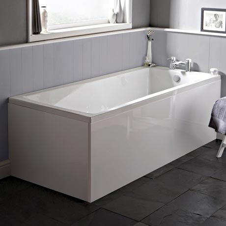 Premier Linton Square Single Ended Bath inc Front & End Panels