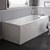 Premier Linton Square Single Ended Bath inc Front & End Panels Small Image