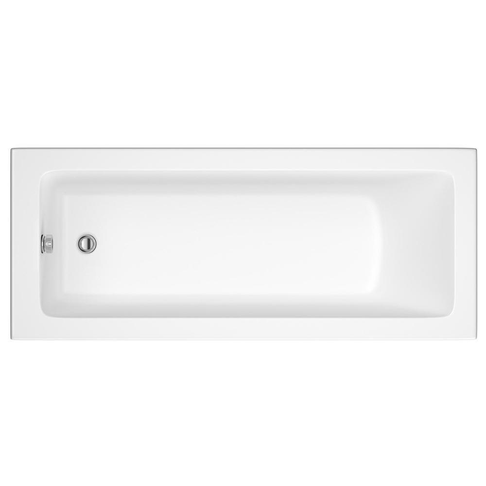Premier Linton Square Single Ended Bath inc Front & End Panels Profile Large Image