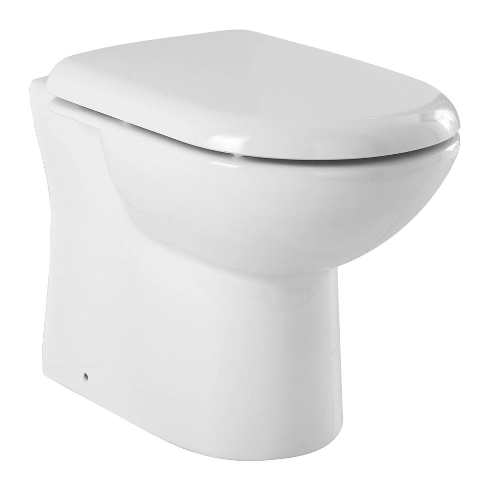 Premier Mayfair Back-To-Wall Toilet Pan inc Soft Close Seat Large Image