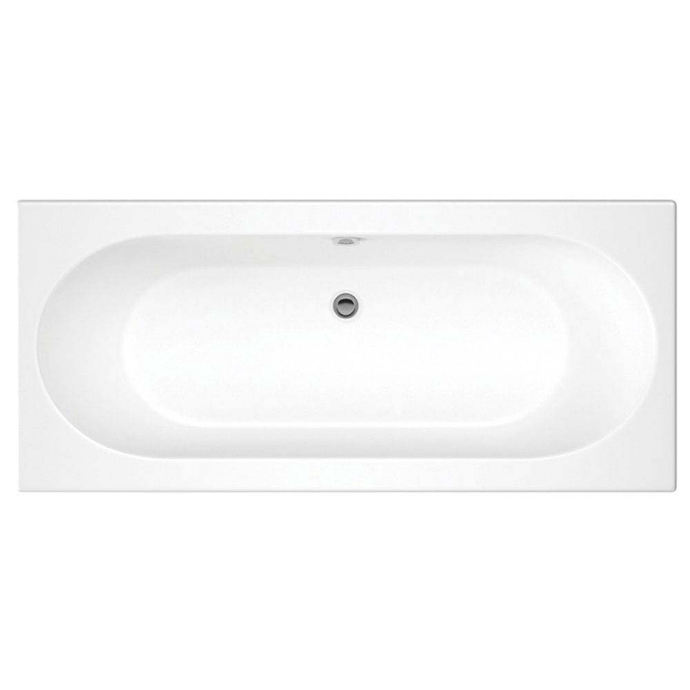 Premier Otley Round Double Ended Bath with Front + End Panels profile large image view 2