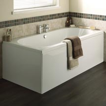 Premier Otley Round Double Ended Bath with Front & End Panels Medium Image