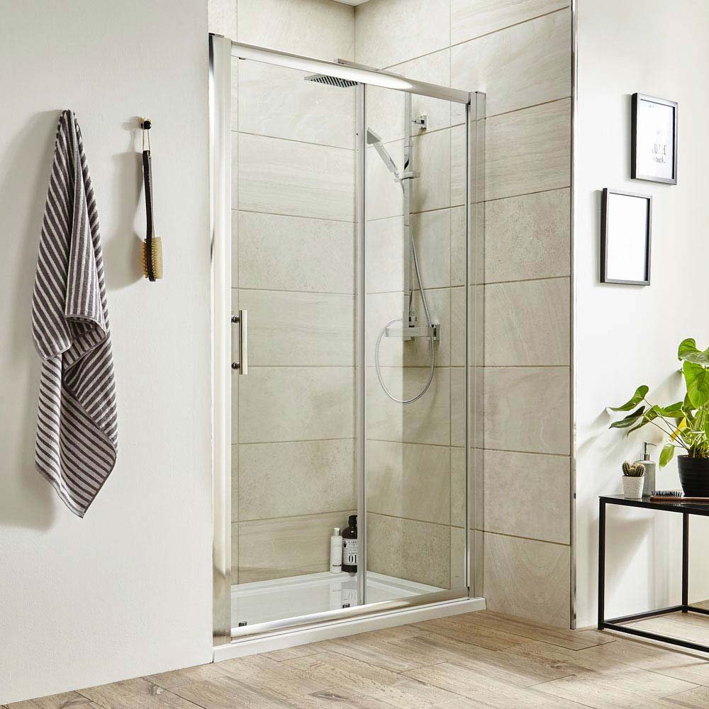 premier pacific sliding shower door various size options medium image