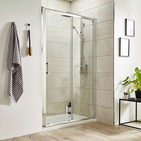 Premier Pacific Sliding Shower Door - Various Size Options