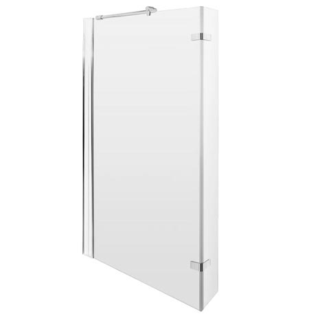 Premier 1400 Quattro Fixed Bath Screen with Hinged Return - NSBS1