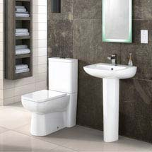 Premier Renoir 4-Piece Modern Bathroom Suite Medium Image