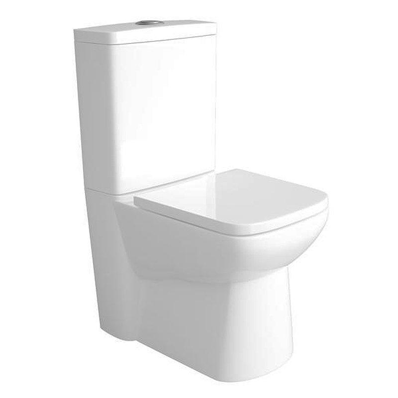 Premier Renoir Compact BTW Toilet with Soft Close Seat Large Image