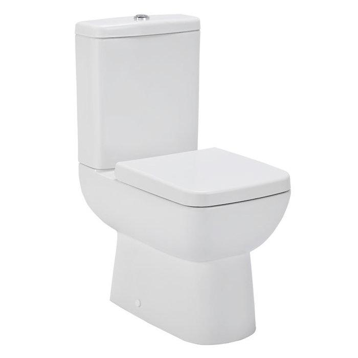 Premier Renoir Compact Toilet with Soft Close Seat Large Image