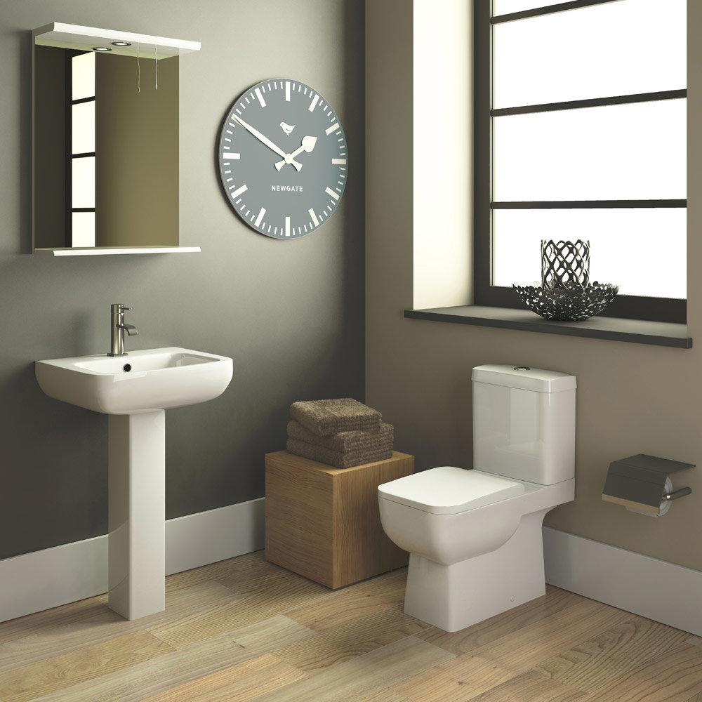 Premier Saxon  Piece Bathroom Suite CSA At Victorian Plumbing - Small 4 piece bathroom
