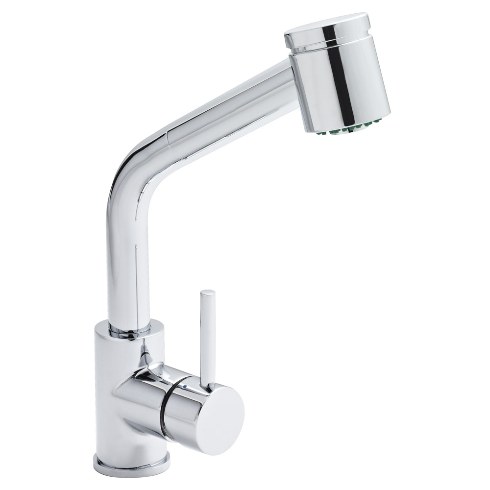 Orba Modern Pull Out Kitchen Tap | Online At Victorian Plumbing.co.uk