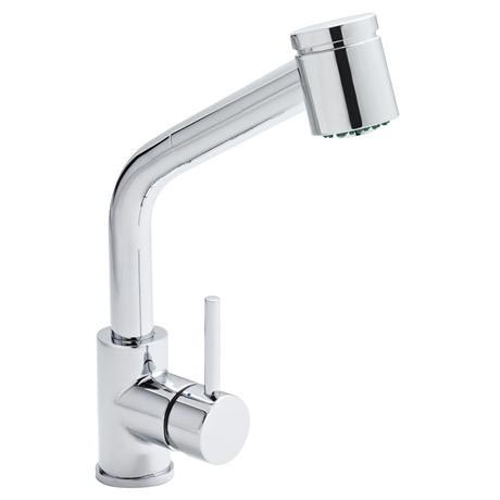 Orba Modern Pull Out Kitchen Tap