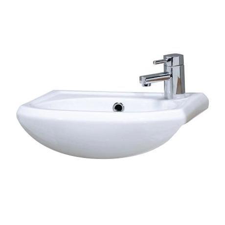 Premier - Sienna 420mm semi-recessed ceramic basin - NBS004