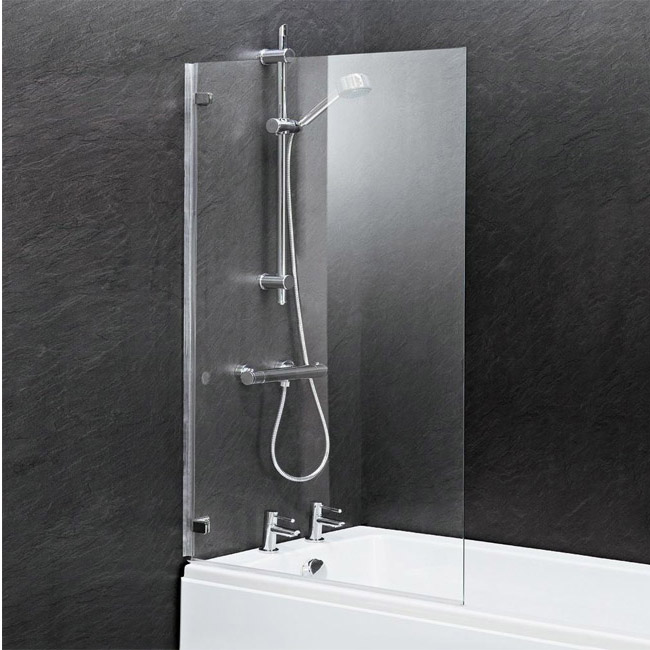 Premier Square Hinged Barmby Shower Bath profile large image view 3