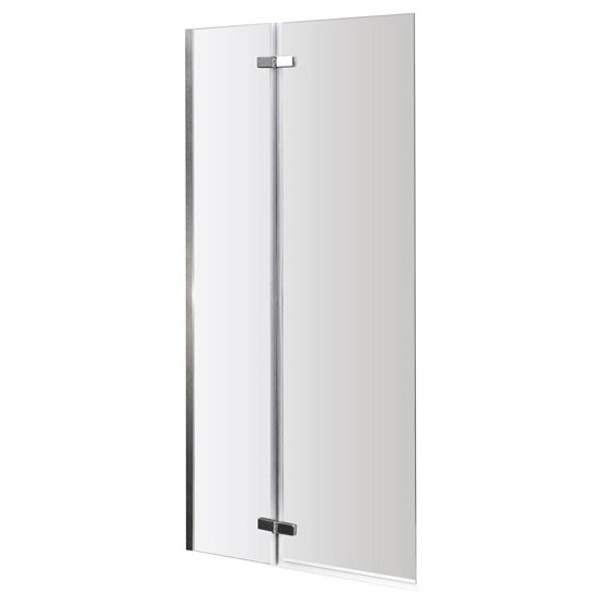 Premier - Square Hinged with Fixed Panel Screen Barmby Shower Bath Profile Large Image